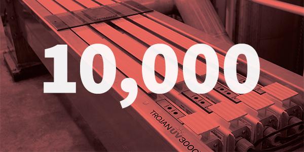 10,000 Municipal UV Installations