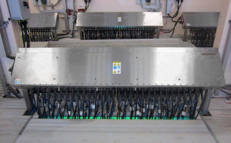 The TrojanUV3000Plus UV Disinfection System at the Doha North STW