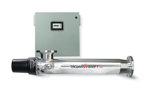TrojanUVSwiftSC drinking water treatment UV system